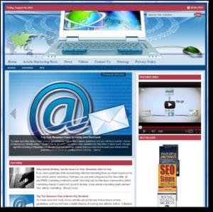 Article Marketing Niche Website