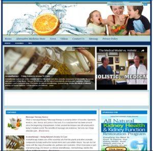 Alternative Medicine Niche Website