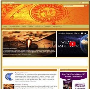 Astrology Niche Website