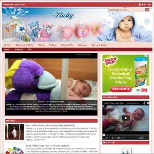 Baby Care Niche Website