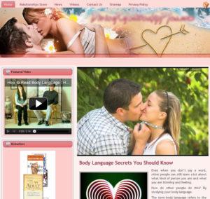 Relationships Niche Website