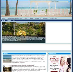 Destination Weddings Niche Website