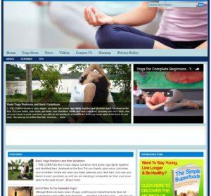 Yoga Niche Website