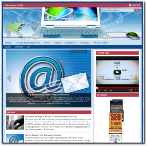 Article Marketing Niche Website