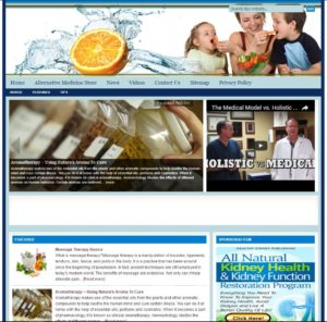 Alternative Medicine Niche Website