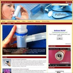 Asthma Niche Website