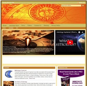 Astrology Niche Website