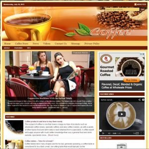 Coffee Niche Website