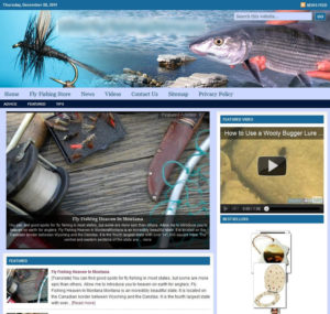 Fly Fishing Niche Website