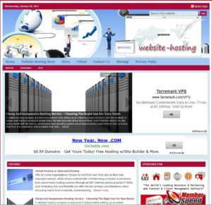Website Hosting Tips Niche Website